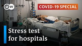 Healthcare systems around the world are under stress. rising numbers of coivd-19 patients seeking treatment, pushing hospitals to brink collapse. ...