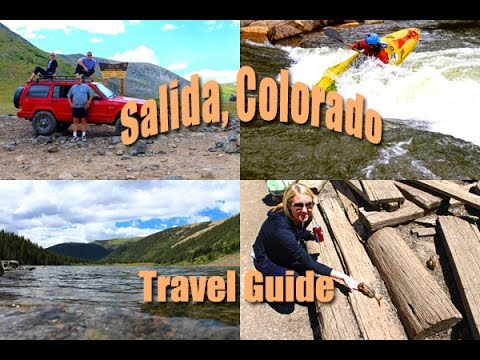 Salida, Colorado, Travel Guide, Jeep Over Tin Cup Pass, Riverfront Salida, St Elmos Pass