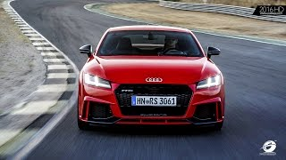 2017 Audi TT RS on Racetrack SOUND + ACCELERATIONS