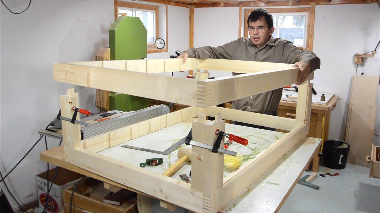 Building The Dresser Frame Dresser Build Part 2 Youtube