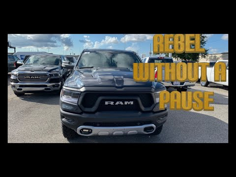 Reviewing the 2019 Dodge Ram Rebel 1500