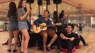 Ô Mê Ly Cover- guitar version- by Sam Vũ- Minh Đạo - Khoa