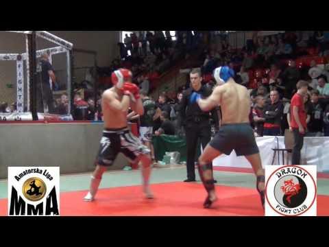 Mistrzostwa Polski MMA 2013 KO Szymański Nikodem vs  Bernard Jan