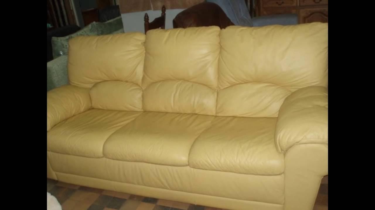 Купить кожаный угловой диван - YouTube