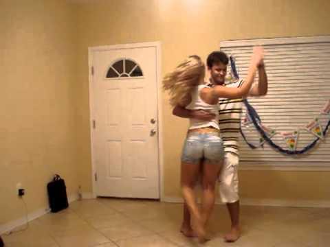 Lambada dance at home