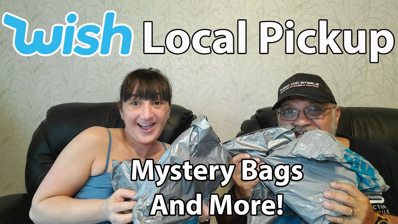 Testing Out Wish Local Pickup | Mystery Bags And More With My Dad
