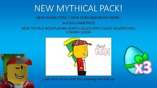 Roblox Toytale Roleplay | MYTHICAL PACK!