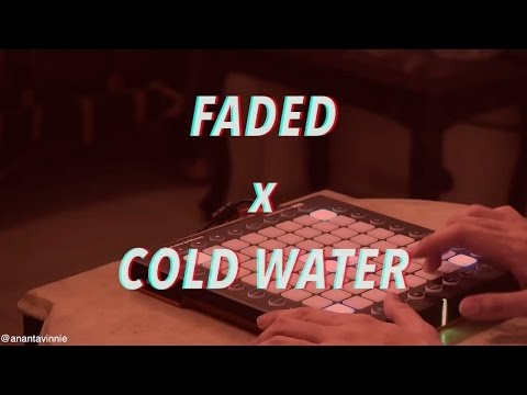 Free Download Cold Water X Faded Mashup ! - Anantavinnie Mp3 dan Mp4