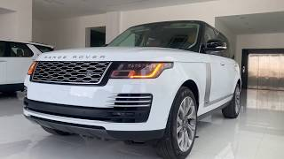2020 Range Rover Autobiography lwb P400 New Engine Si6 | Fuji White