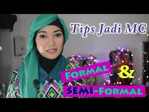 Tips MC Acara Formal Dan Semi-Formal