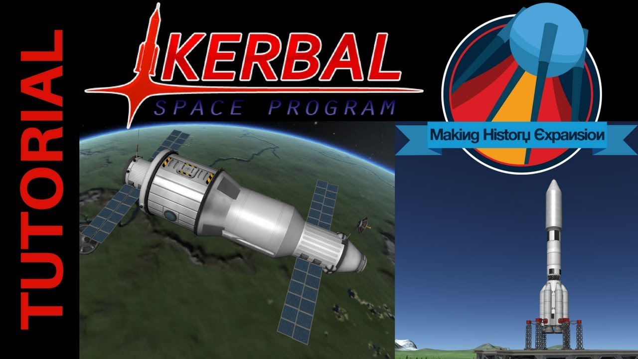 Kerbal Space Program Tutorial: How to Build Salyut 1 and ...