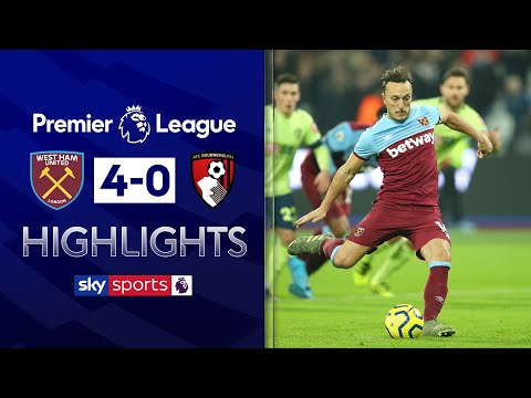 Hammers put four past Bournemouth! | West Ham 4-0 Bournemouth | Premier League Highlights
