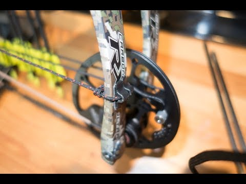 Set up of a limb operated drop away rest on the Hoyt REDWRX RX-1 Ultra
