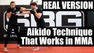 *REAL VERSION* Aikido Kotegaeshi in MMA • Martial Arts Journey