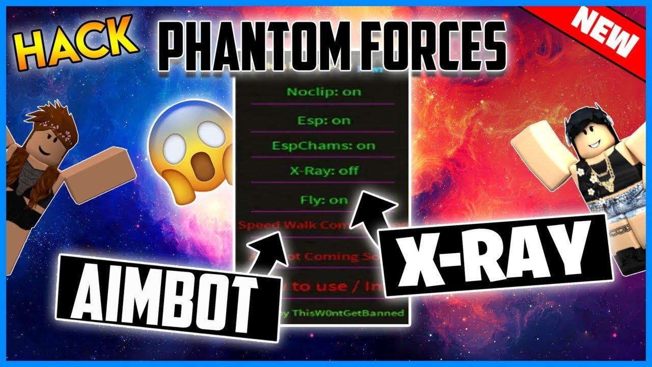 My Hack Roblox Hack Pf Xray Free Phantom Forces - New Roblox Hack Phantom Forces Gui Aimbot Esp Noclip