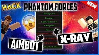 ✔️NEW✔️ROBLOX HACK - PHANTOM FORCES GUI - AIMBOT, ESP, NOCLIP, FLY, MORE