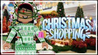 Roblox | Christmas Shopping!!!!!! SHOPPING SPREE!!