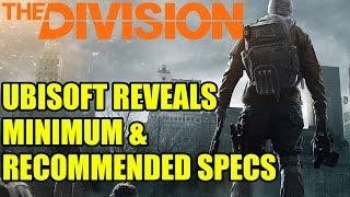 The Division | Ubisoft Reveals Minimum & Recommended PC Requirements