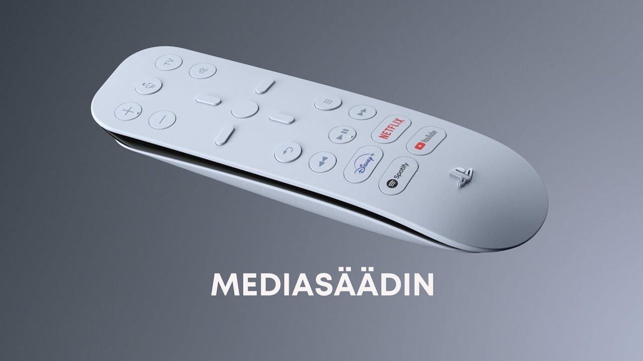 Media Remote | PS5