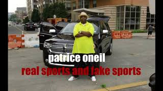 patrice o'neal funny takes on whats real sports and fake sports