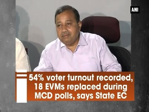 54% voter turnout recorded, 18 EVMs replaced during MCD polls, says State EC - New Delhi News