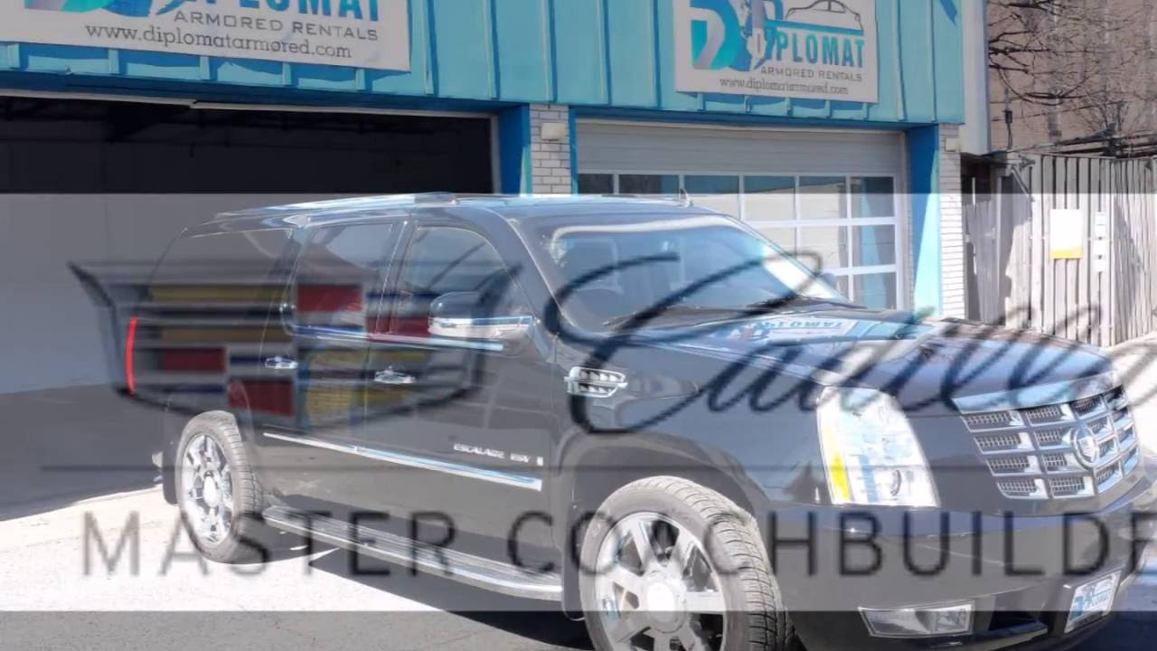 Armored Cadillac Escalade Vip Presidential From Diplomat Armored