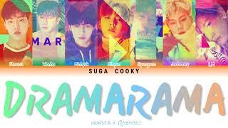 MONSTA X 몬스타엑스 - DRAMARAMA Lyrics (Color Coded Lyrics Han/Ro…