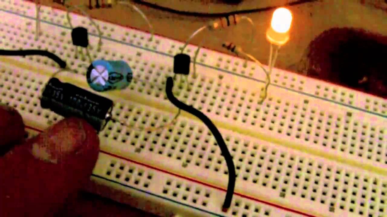 2 Transistor Astable Multivibrator Not A Flip Flop