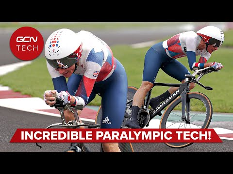 Innovative Bike and Body Tech Behind Paralympic Gold