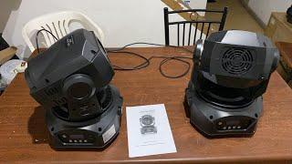 2 Cabezas Robóticas Led Spot Gobos Rotativos + Prisma 90 Watts Reales ⚡️ Fredy Colima