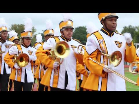 Wenonah High School Marching Band Marching In Before Field Show | At Selma's BOTB | 2019 |