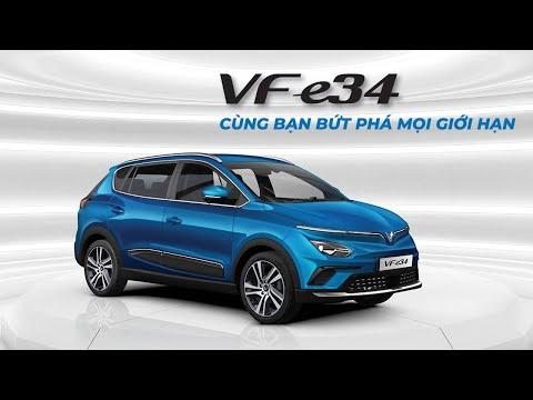 VinFast ra mắt VF e34 - Ô tô điện thông minh đầu tiên của Việt Nam