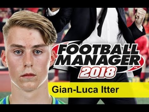 Gian-Luca Itter Football Manager 2018 - Wolfsburg Young Defender