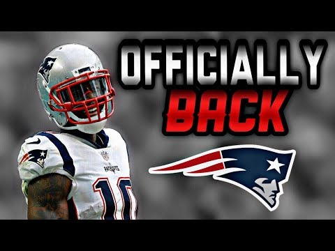 Patriots WR Josh Gordon reinstated into the NFL