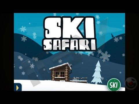 Ski Safari - iPhone & iPad Gameplay Video