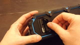 Life Jacket Waterproof Bluetooth Portable Speaker Review