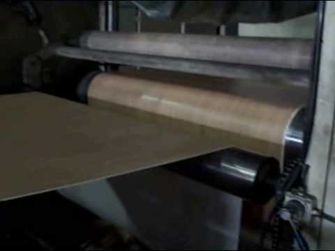 How Laminate Flooring is Made, Part 1
