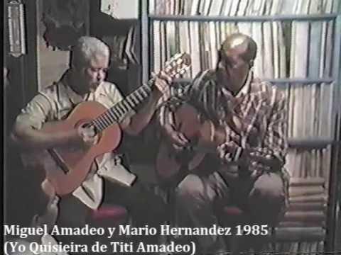 Miguel Amadeo y Mario Hernandez #1