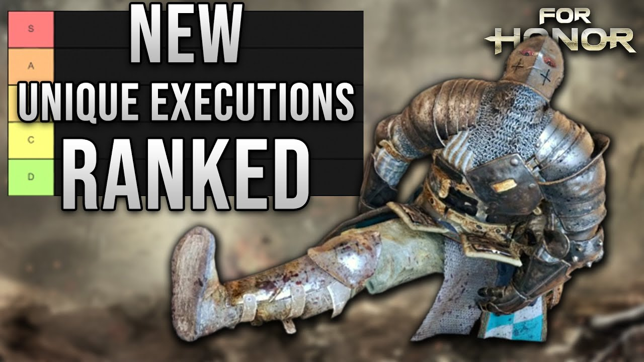 New Unique Execution Tier List [For Honor Y5S3]