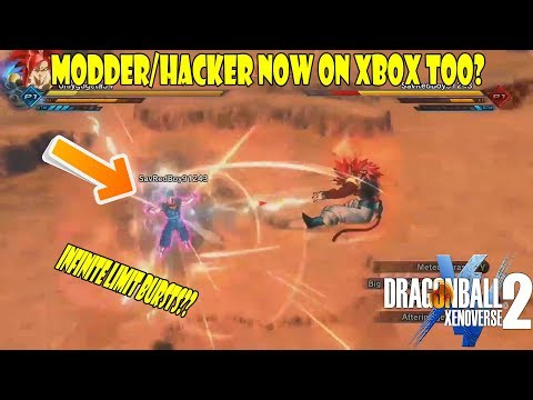 Xenoverse 2 Hacker/Modder Now On Xbox Too? Unlimited Limit Burst Hack?
