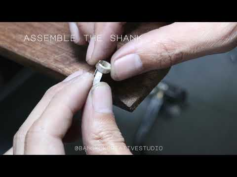 Marquise Bezel Ring - How it's made jewelry series (Grandmaster-level Creative*)
