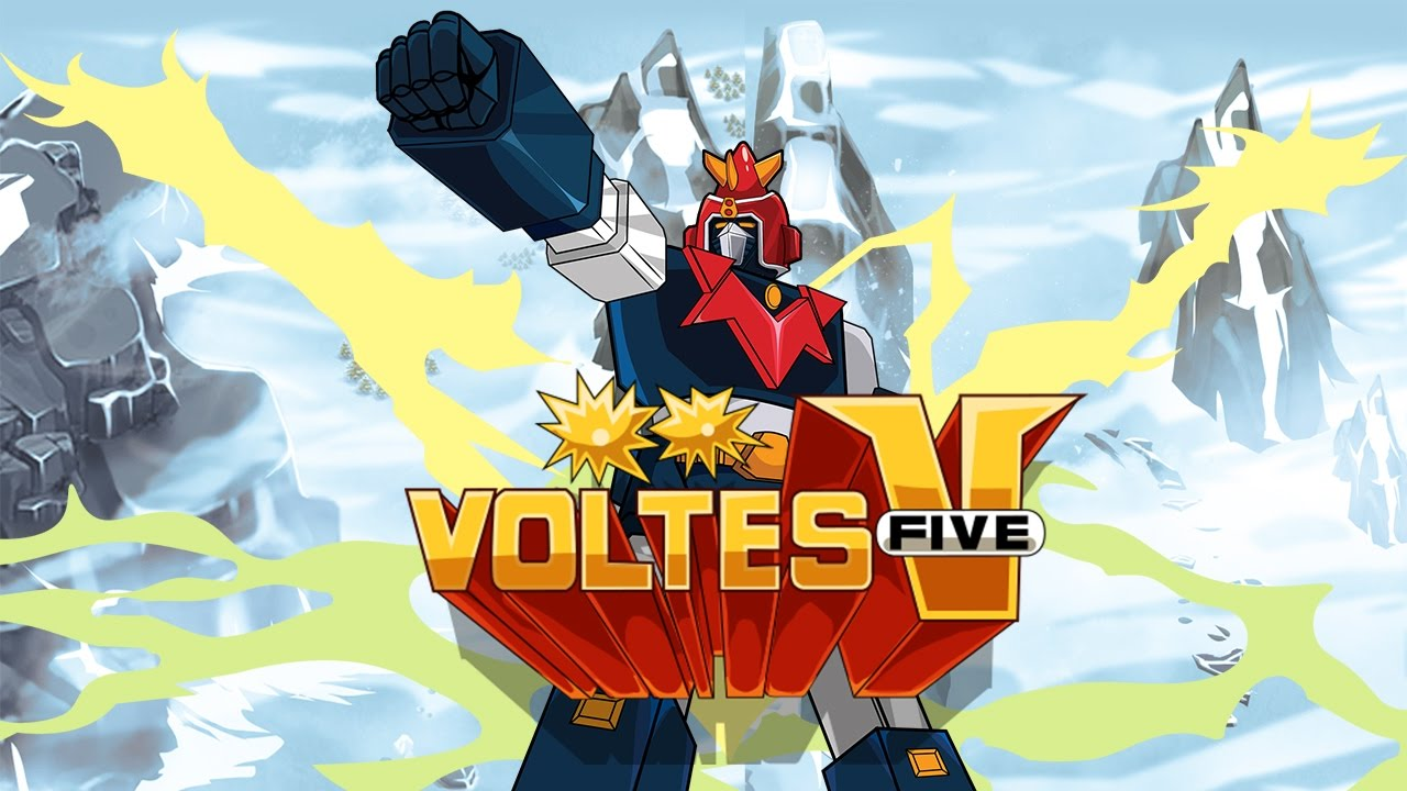 Voltes V Official Game Trailer