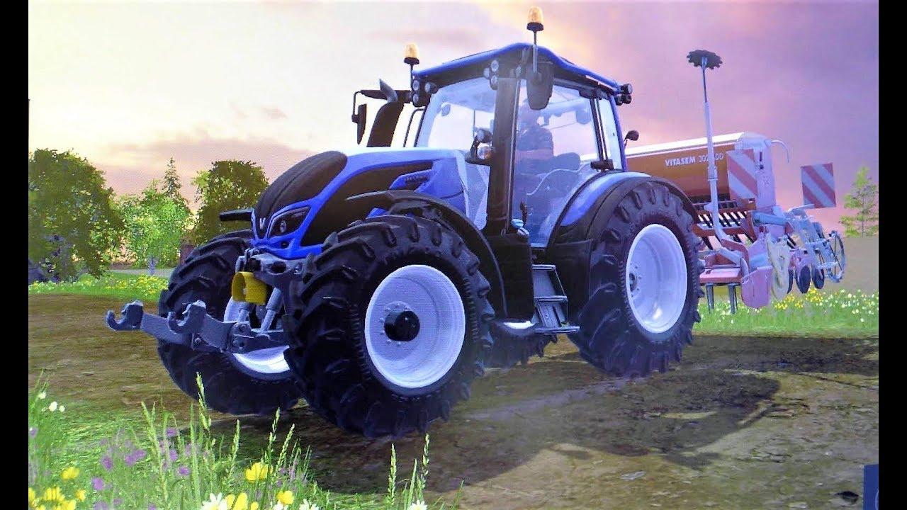 Мультики про #Машинки для детей - Синий #трактор Ферма ...