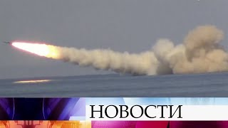 Отряд кораблей ВМФ России провел успешные стрельбы в Черном море.