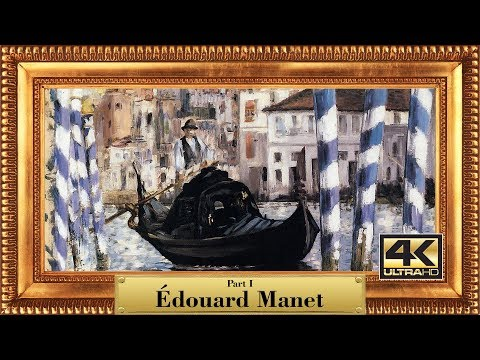 Artist: Edouard Manet (1832-1883) | 275 classic paintings | 4K Ultra HD slideshow