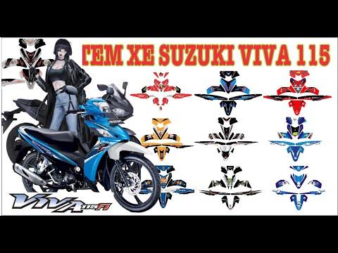 tem xe Suzuki Viva 115 Fi - sticker decal Suzuki Viva 115 Fi   01
