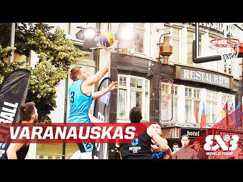 Ovidijus Varanauskas - Mixtape - Prague - 2016 FIBA 3x3 World Tour