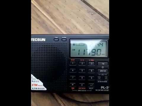 Tecsun PL-310ET Radio KSDA Adventist World Guam desde Mendoza, (ARG)