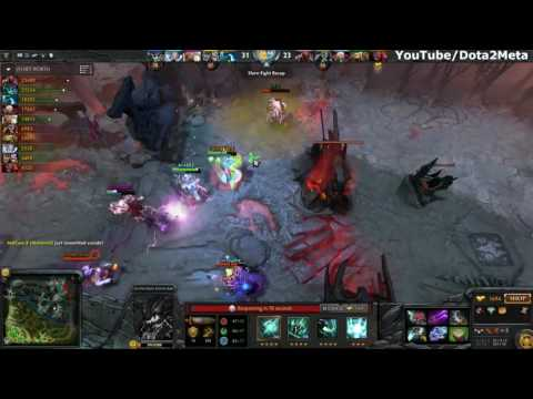 Miracle Outworld Devourer Silver Edge and Hurricane Pike Epic 9k MMR EU Gameplay Dota 2