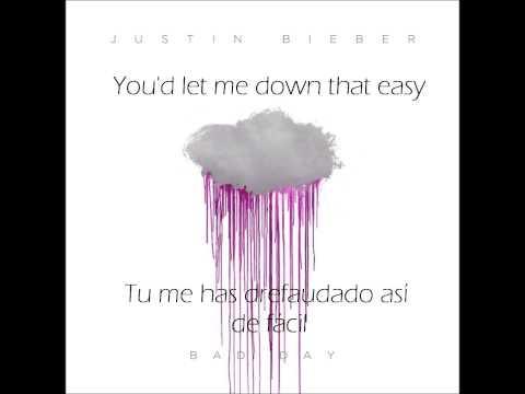 Justin Bieber - Bad Day (Letra en Inglés y español)